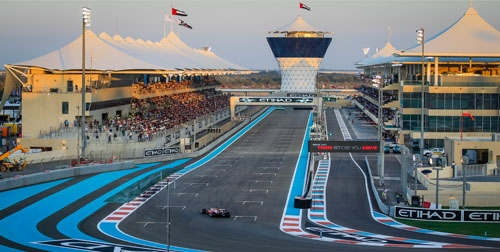 5-of 6-daagse Formule 1 Grand Prix Abu Dhabi per Emirates